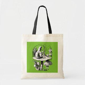 Alice & Centipede in Wonderland Tote Bag