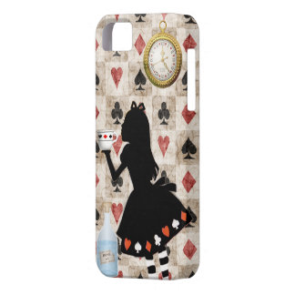 Alice Drinking Tea Barely There iPhone 5 Case