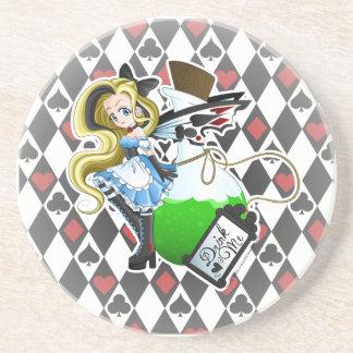 Alice Fairy-Drink Me Anime Coaster