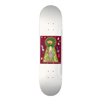 Alice (Fairy Tale Fashion Series #4) Skate Board Deck
