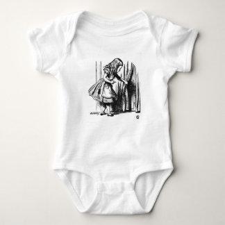 Alice Finds a Door Baby Bodysuit