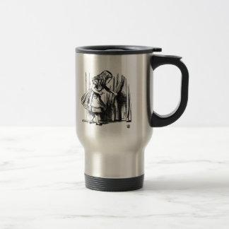 Alice Finds a Door Travel Mug