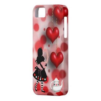 Alice & Flamingo Hearts & Teapot iPhone 5 Cases
