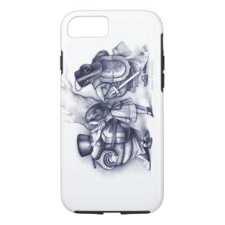 Alice helps Tweedledee and Tweedledum suit up iPhone 7 Case