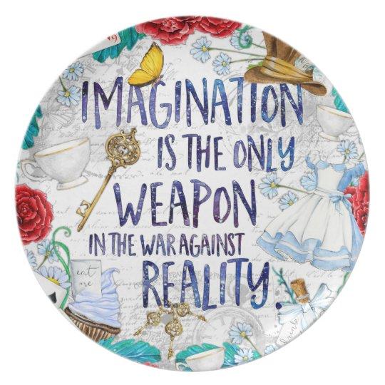 Alice - Imagination plate