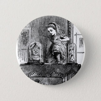 Alice in a Mirror 6 Cm Round Badge