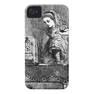 Alice in a Mirror iPhone 4 Case