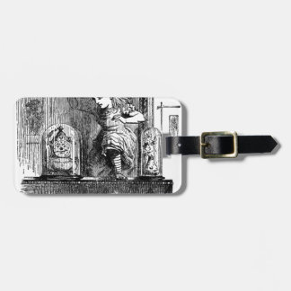 Alice in a Mirror Luggage Tag