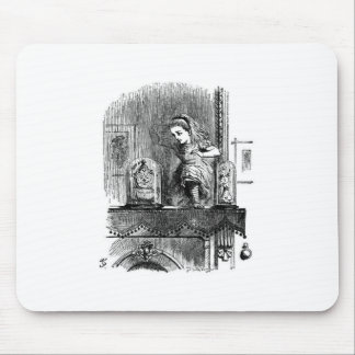Alice in a Mirror Mouse Pad