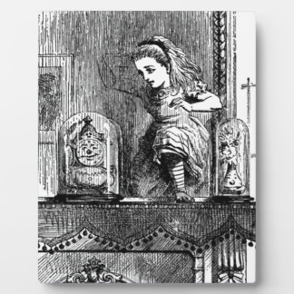 Alice in a Mirror Plaque