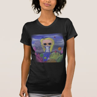 alice in candyland womens shirt