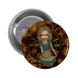 """Alice in Clockwork"" Button"