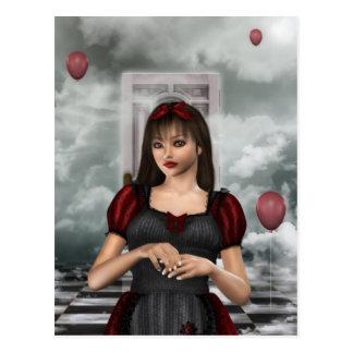 Alice in Dream Postcard