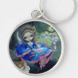"""Alice in Fragonard's Swing"" Keychain"
