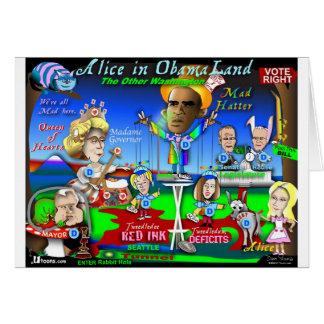 Alice in ObamaLand Card