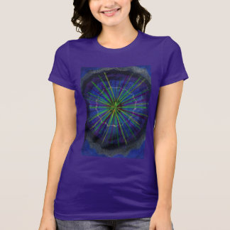 ALICE in Particle-land women's fitted t-shirt