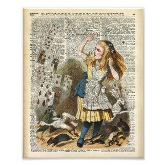 Alice in the wonderland art photo