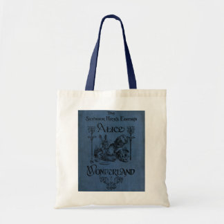 Alice in Wonderland 1905 book cover Budget Tote Bag