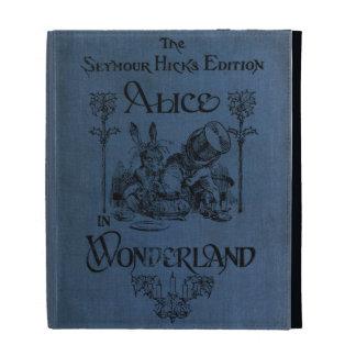Alice in Wonderland 1905 book cover iPad Folio Case
