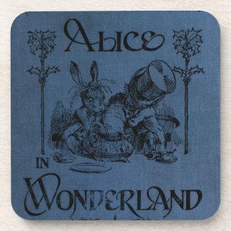 Alice in Wonderland 1905 book cover Drink Coasters