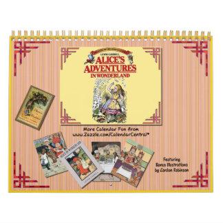 Alice in Wonderland 2008 Calendar