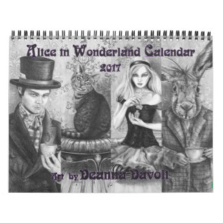 Alice in Wonderland 2017 Calendar Fairy Tale