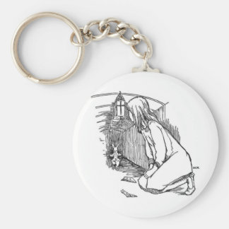 Alice in Wonderland 4 Key Ring