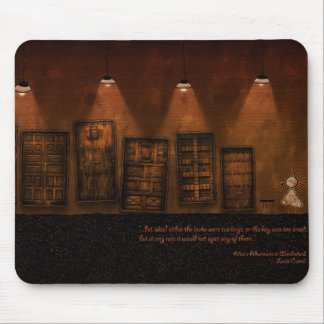 Alice in Wonderland - A Tiny Golden Key Mouse Pad