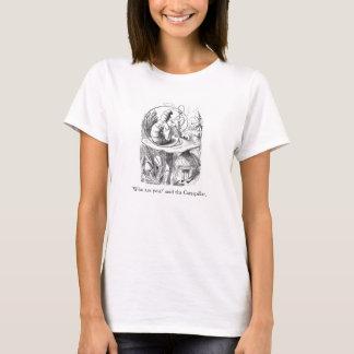 Alice in Wonderland Absolem illustration t-shirt