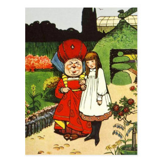 Alice in Wonderland: Alice and the Duchess Postcard