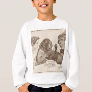 Alice in Wonderland, at the Tea Table Sweatshirt