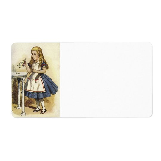 Alice in wonderland Avery® Shipping labels