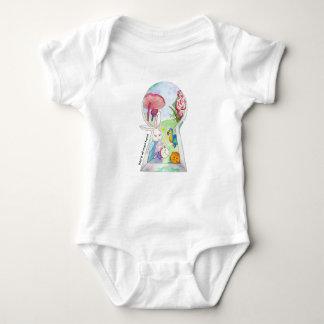 Alice in Wonderland Baby Baby Bodysuit
