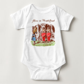Alice in Wonderland Baby Jersey Bodysuit