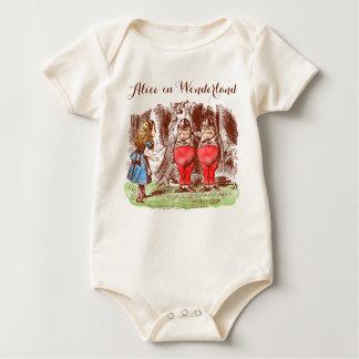 Alice in Wonderland Baby Organic Bodysuit