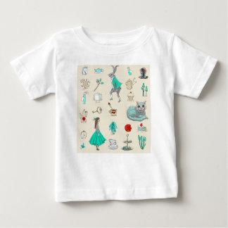 Alice in wonderland baby T-Shirt