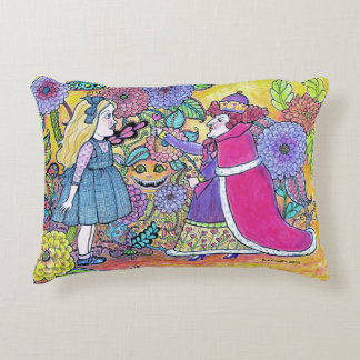 Alice in Wonderland, Believe the Impossible Decorative Cushion