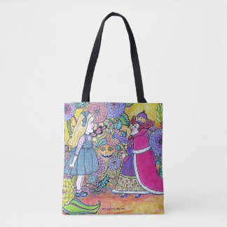 Alice in Wonderland, Believe the Impossible Tote Bag