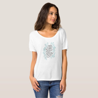 Alice in Wonderland Boatneck T-shirt
