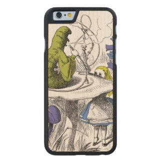 Alice in Wonderland Carved® Maple iPhone 6 Slim Case