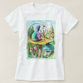Alice In Wonderland Caterpillar Ladies T Shirt