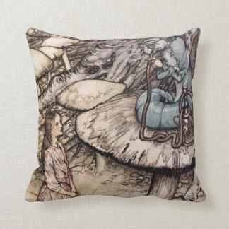 Alice in Wonderland Caterpillar Pillow