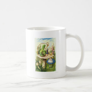 Alice in Wonderland Caterpillar Smoking Hookah Coffee Mug