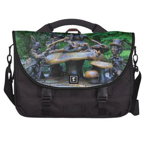 Alice in Wonderland - Central Park NYC #2 Bag For Laptop