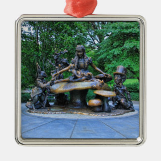 Alice in Wonderland - Central Park NYC #2 Metal Ornament