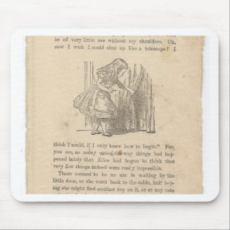 Alice In Wonderland, Chapter One, Down the Rabbit Mouse Pads