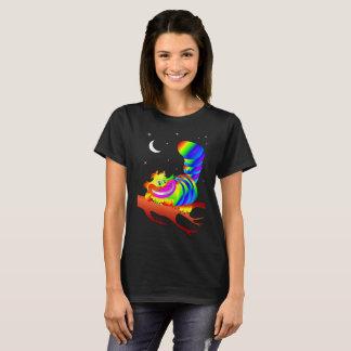 Alice in Wonderland Cheshire Cat Design T-Shirt