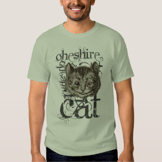 Alice In Wonderland Cheshire Cat Grunge (Single) Shirt