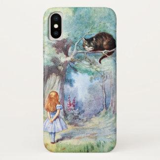 Alice in Wonderland Cheshire Cat iPhone X Case