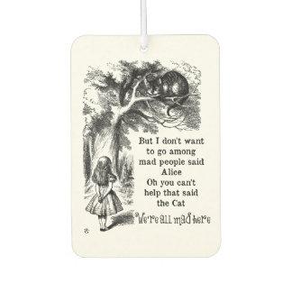 Alice in Wonderland; Cheshire Cat with Alice
